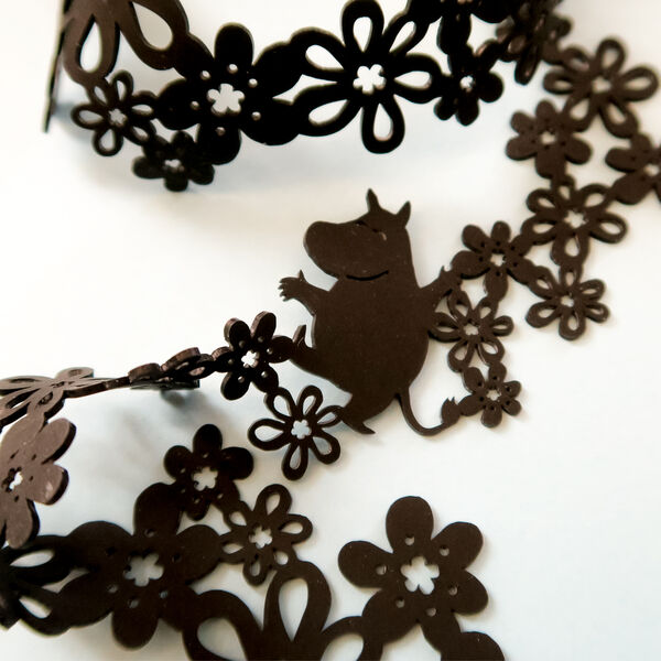 Moomin necklace black